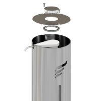 astreea® Open Pedal- und Knopf-Spender
