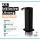 astreea® Desk Desinfektionsspender Schwarz aus Edelstahl mit 1,0L Kanister